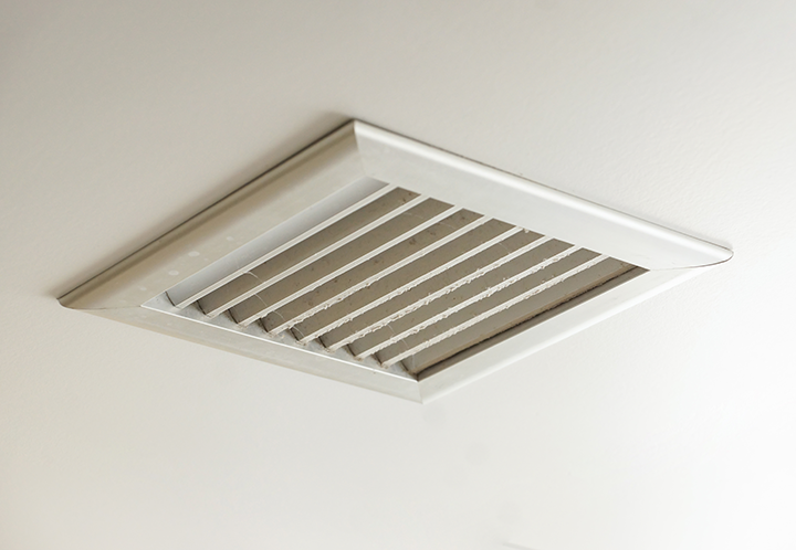 Closed Vents in Rooms